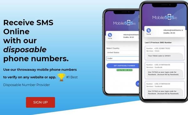 Wegwerf telefonnummer für sms