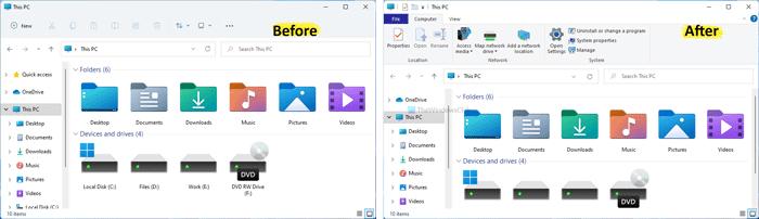 Hoe krijg ik Windows 10 Explorer terug in Windows 11