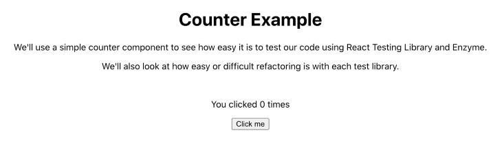 Exemplo de contador de aplicativo